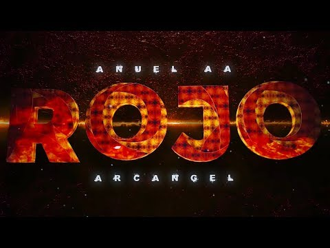 Arcangel x Anuel AA - Rojo [Lyric Video]