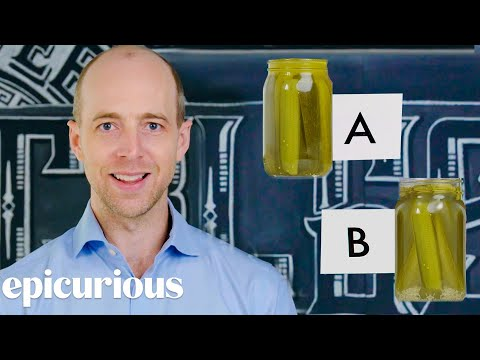 Pickle Expert Guesses Cheap vs Expensive Pickles | Price Points | Epicurious