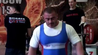 Вадим Кахута, супер рекорд в жиме лежа, 270 кг.