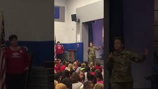 Veterans Day Assembly 2017 - Trails West Elementary School