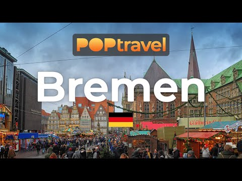 Walking in BREMEN / Germany 🇩🇪- 4K 60fps (UHD)