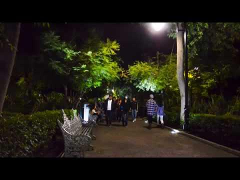 Timelapse Jardín san marcos, Aguascalientes. Mexico