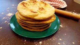 Traditional Greek Pitta Bread