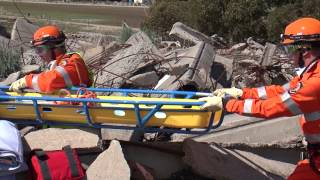 """NDRC 2013 Stand 4 """"USAR Rubble Search and Rescue"""" DFES SES Western Australia Australia"""