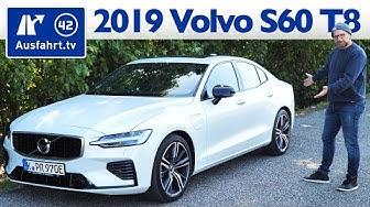2019 Volvo S60 T8 Twin Engine AWD R-Design - Kaufberatung, Test deutsch, Review, Fahrbericht