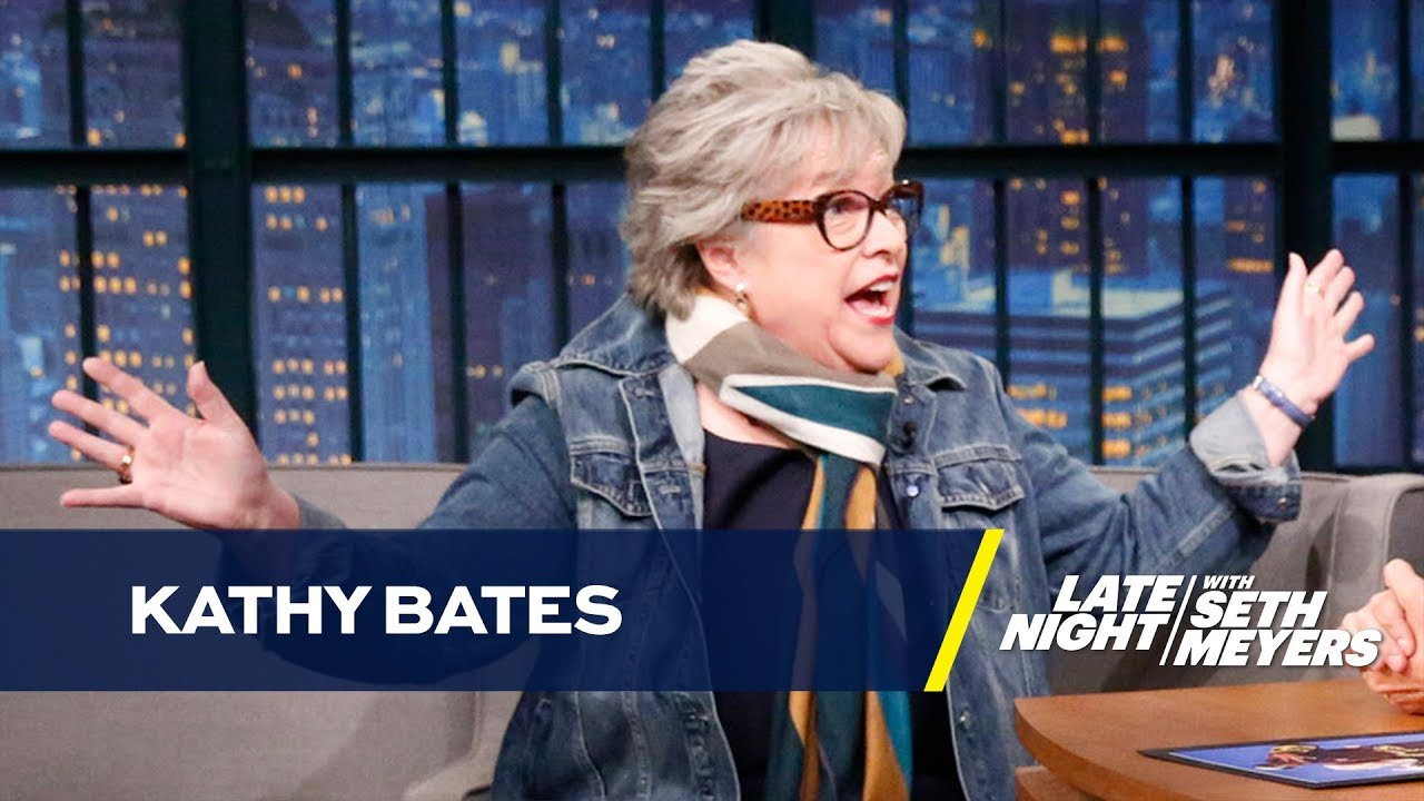 Download Kathy Bates Gets High Before Reading Every Disjointed Script