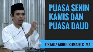 Puasa Senin Kamis Dan Puasa Daud - Ustadz Abdul Somad Lc. MA 2017 Video