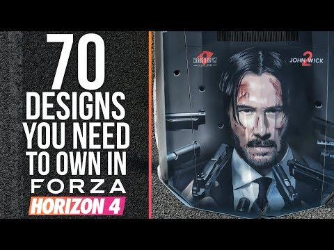Forza Horizon 4 - 70 DESIGNS YOU NEED TO OWN IN FORZA HORIZON 4 thumbnail