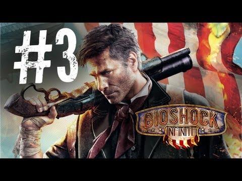 Bioshock Infinite Walkthrough Part 3 - SkyLine (PC/PS3/Xbox)