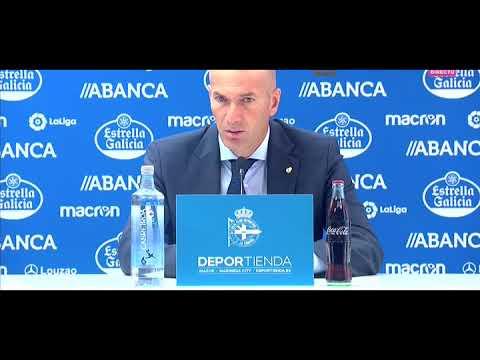 Rueda de prensa post partido | Zidane | Deportivo 0-3 Real Madrid | Jornada 1