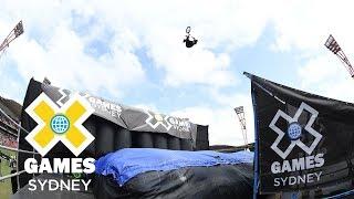 Mykel Larrin wins bronze in BMX Big Air | X Games Sydney 2018