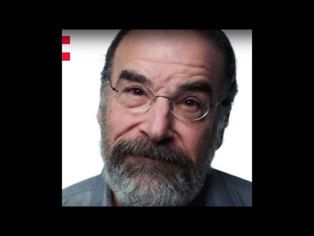 Frame of a video of Mandy Patinkin speaking about the Odyssey project
