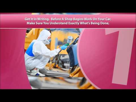Auto Body Repair Commercial, Advert for your Business