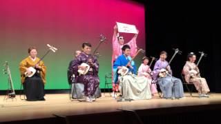 Japanese Tsugaru Shamisen 山口晃司三絃会 ふなし(曲名(きょくめい, ...