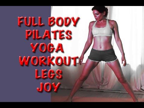 FULL BODY PILATES LEG SHAPING YOGA WORKOUT Depression
