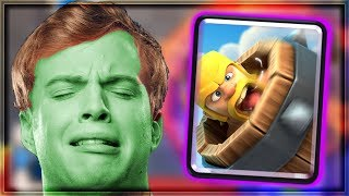 Clash Royale - THESE BATTLES ARE MAKING ME SICK...