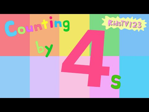 Counting by 4s