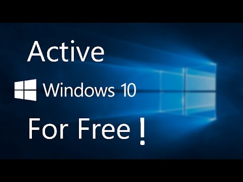 How To Active Windows 10 V1703 FOR FREE Without Any Software 2017