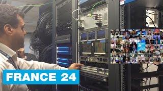 FRANCE 24 - Dans les coulisses du lancement de la chaîne sur la TNT en  Île-de-France