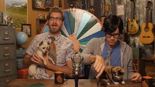 link dogs opening gifts