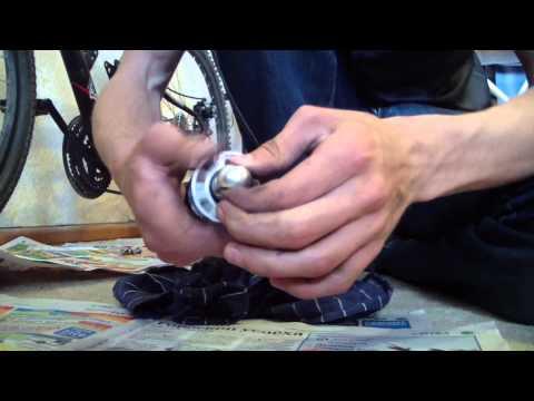 Скрип заднего амортизатора на велосипеде