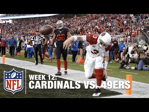 Carson Palmer Runs in Game-Winning TD & Does Awkward Gronk Spike?! | Cardinals vs. 49ers | NFL