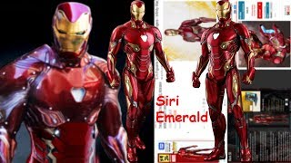 iron man suits in movies