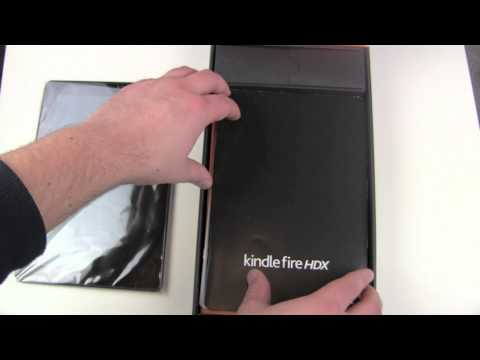 Amazon Kindle Fire HDX 8.9 Unboxing and First Look