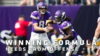 Winning Formula: What Do The Minnesota Vikings Need From The Offense On Sunday Night?