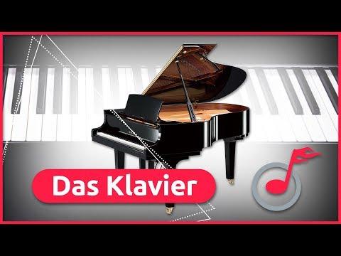 Das Klavier - Aufbau, Geschichte und Entwicklung