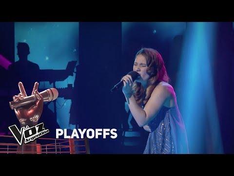 "Playoffs #TeamAxel: Eugenia Stuk canta ""Corre"" de Jesse & Joy - La Voz Argentina 2018"