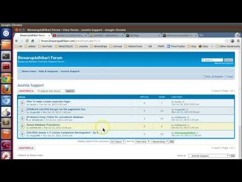 How To Create Custom Page In Joomla 2.5 And How To Style Your Page