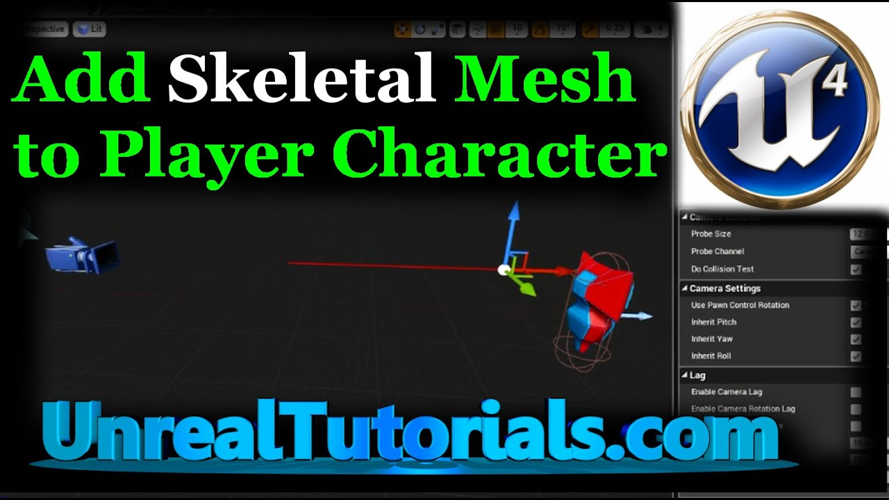 Unreal engine 4 tutorial add mesh to player character youtube malvernweather Gallery