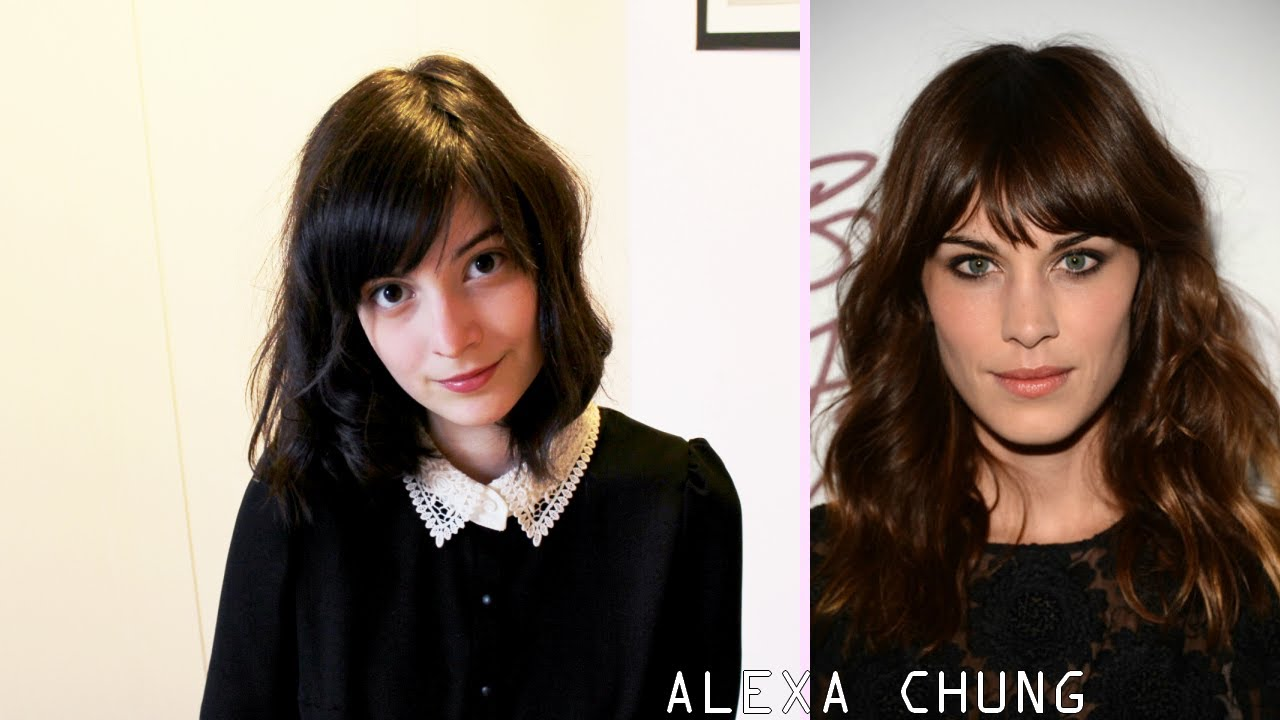 Hair Tutorial Alexa Chung Inspired Messy Curls Youtube