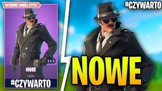 NOIR-NEW SKIN DETECTIVE in Fortnite Battle Royale-Gameplay #czywarto