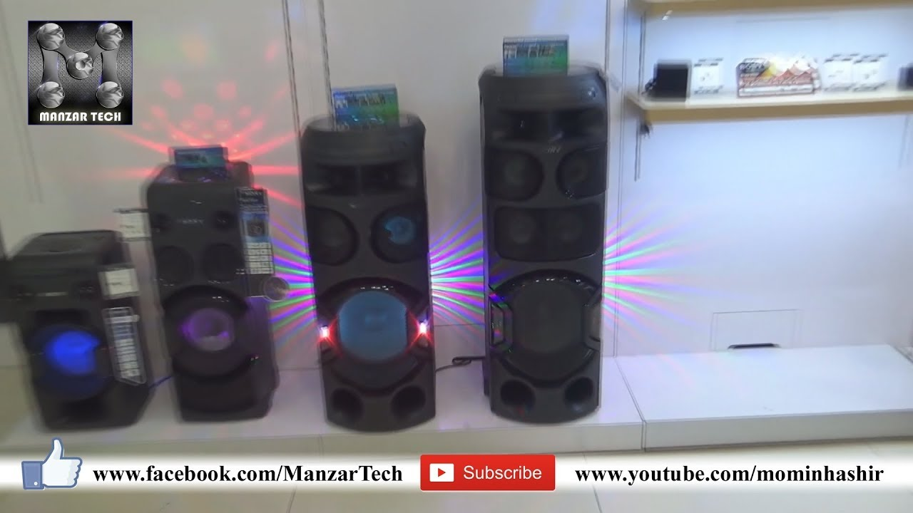 Sony Mhc V71d High Power Portable Party Music System With