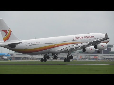 Plane Spotting at Amsterdam Schiphol Airport, AMS | Close Up landings, RW27