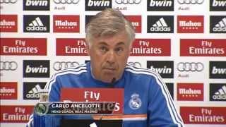 "Carlo Ancelotti optimistisch: ""Im Fußball kann alles passieren""   Celta de Vigo - Real Madrid"