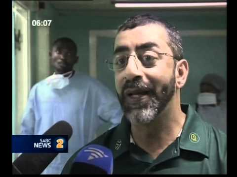 South African Doctors Assist Congo Explosion Victims
