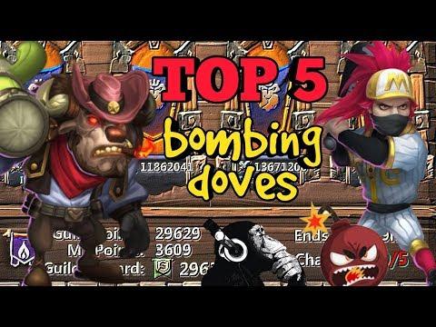 Guild Wars   Mino Bomb   Bombing Doves   Castle Clash