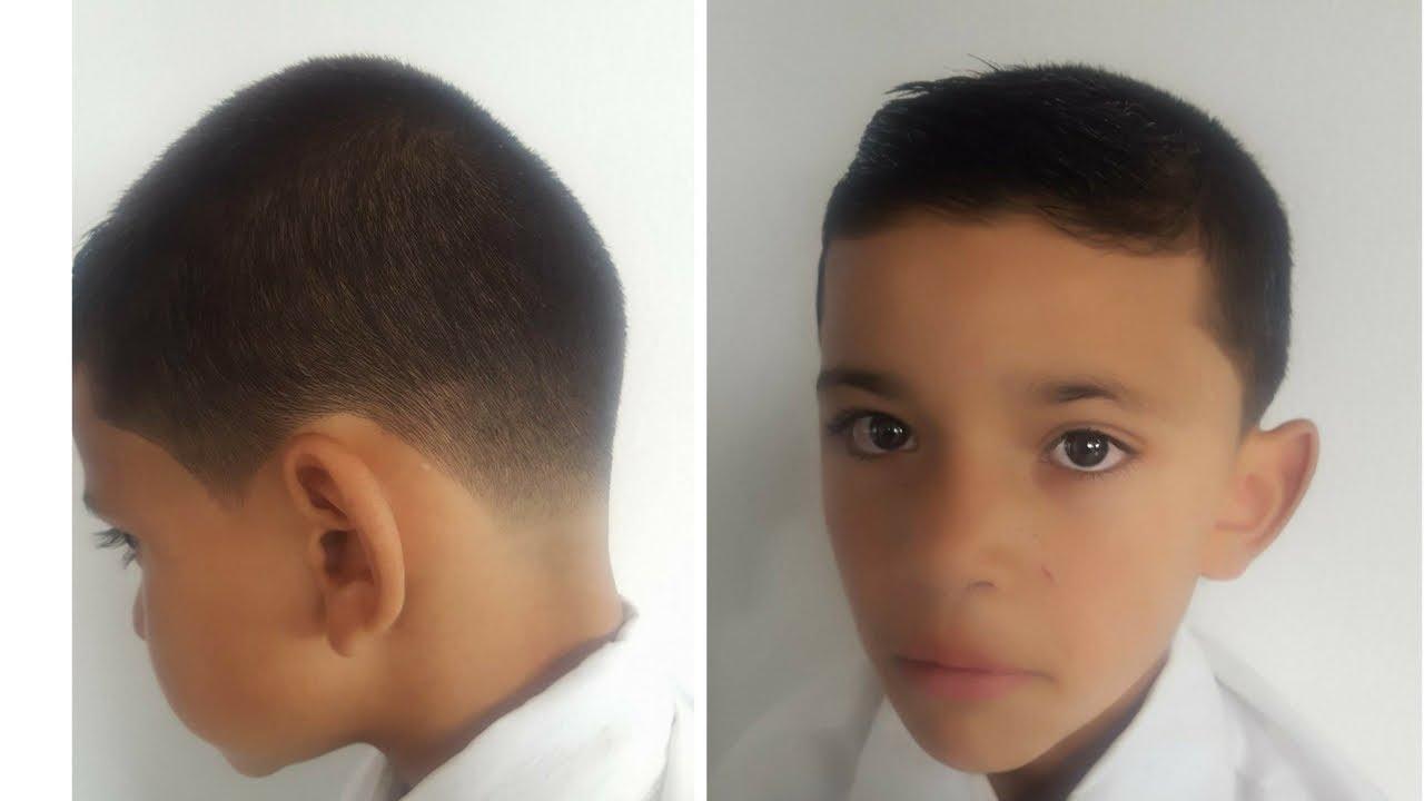Corte Para Niño Con Maquina Paso A Paso Leonardo Ramirez