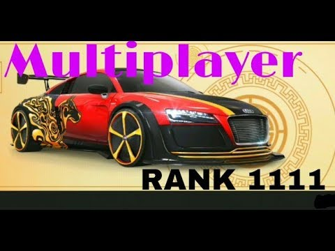 Asphalt 8 Multiplayer with Audi R8 e tron special edition