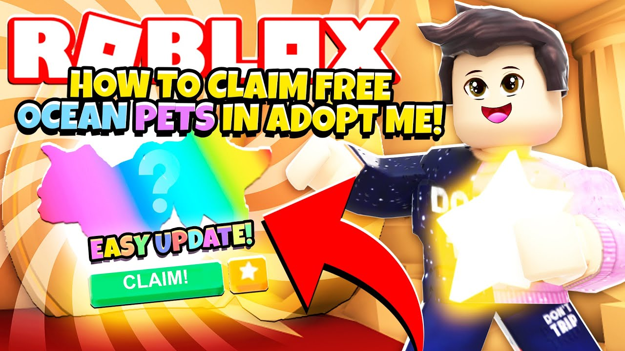 How to Claim *FREE OCEAN PETS* in Adopt Me! NEW Adopt Me Daily Login Rewards Update (Roblox)