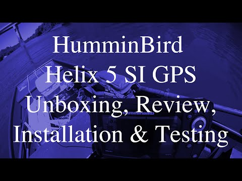 Helix 5 SI GPS Unboxing, Review, Installation and Test