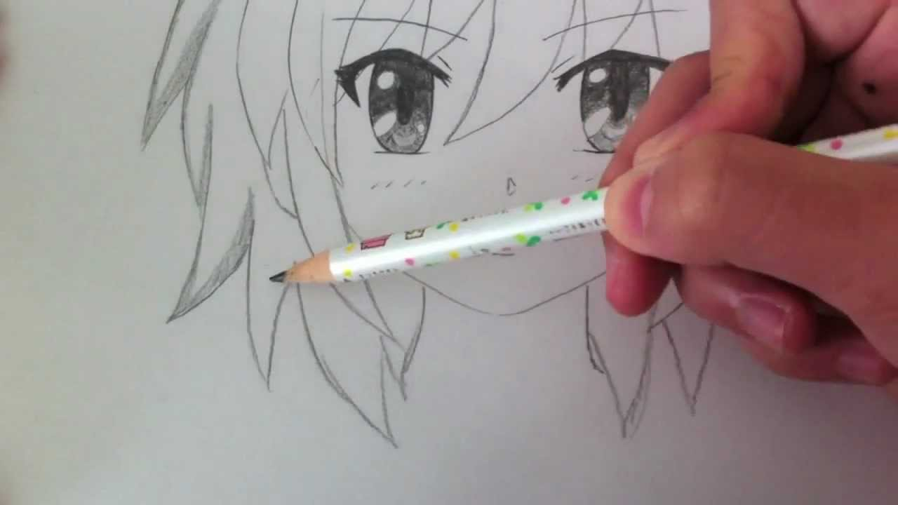 Drawing a Basic Manga Girl  YouTube - Cute Easy Hairstyles For School