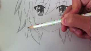 Drawing a Basic Manga Girl