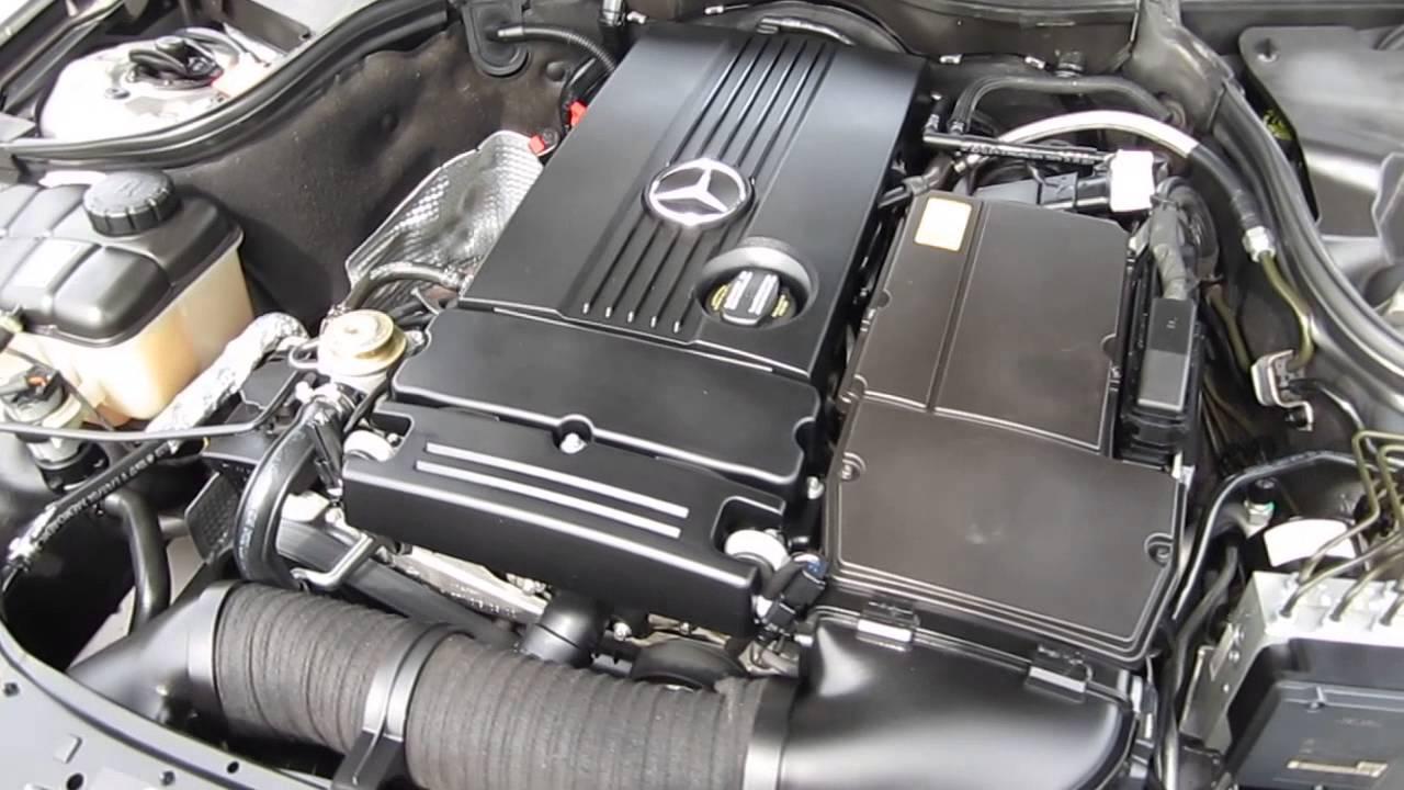 2005 mercedes benz c230 gray stock h2013 engine [ 1280 x 720 Pixel ]