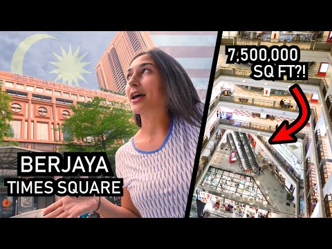 Malaysia's Berjaya Times Square - 10th LARGEST BUILDING in the WORLD
