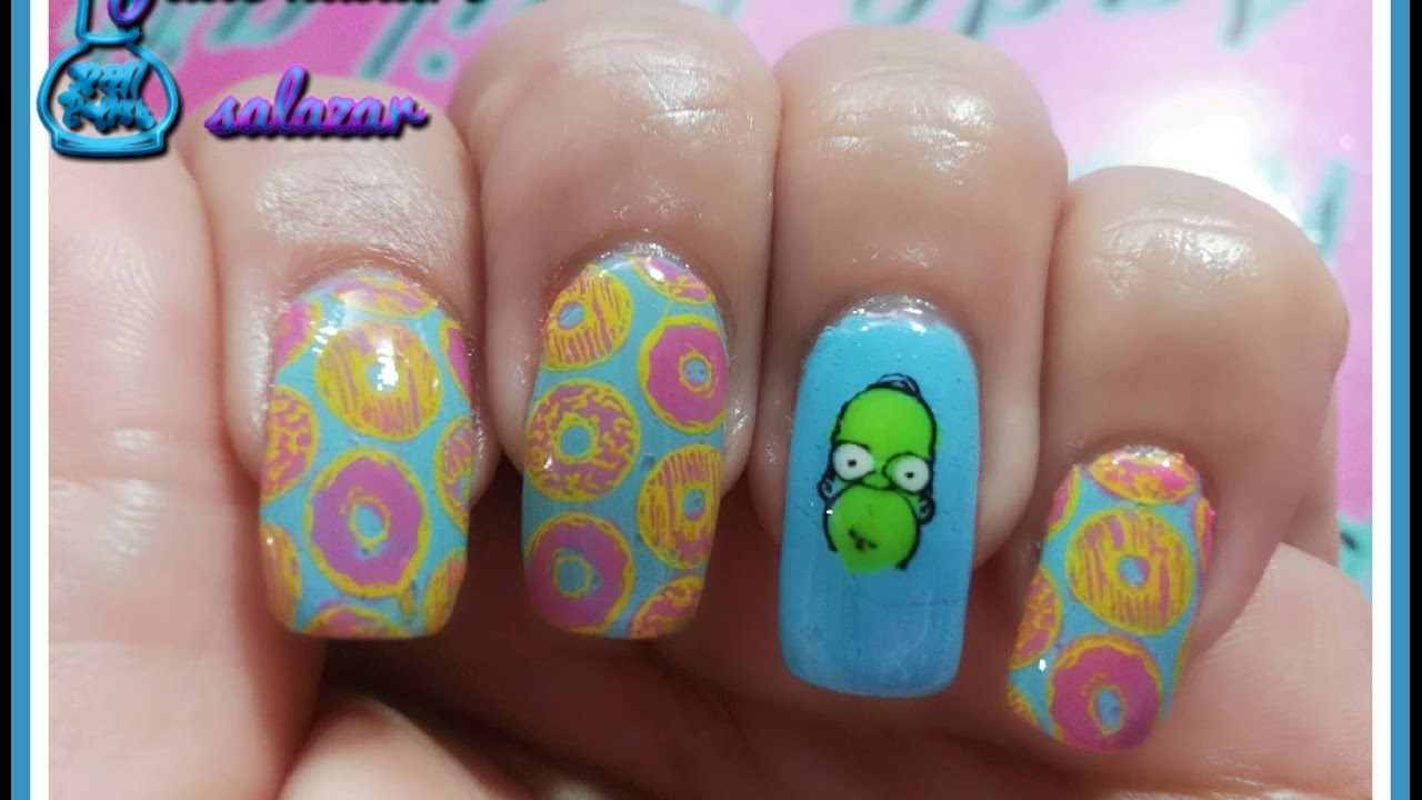 stamping nail art colaboracion