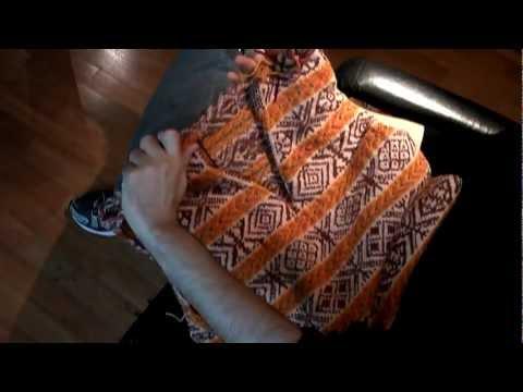 Brazilian Knitter - Cutting steeks - hand knitting - Meg Swansen's ...